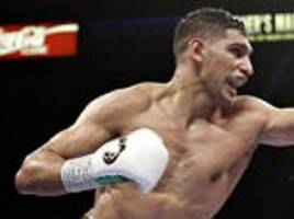 Amir Khan says he now 'belongs' with the big boys like Floyd Mayweather and Manny Pacquiao